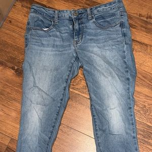Ladies American eagle low waist jeans